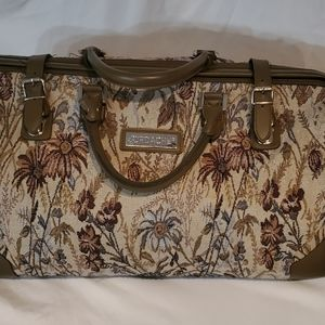 Jordache vintage luggage bag